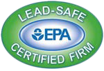 Lead-Safe EPA Certified firm Logo