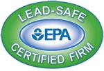 Lead-Safe EPA Certified firm Logo