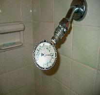 shower riser pressure test